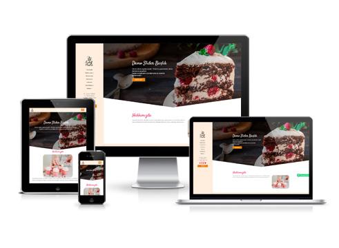 Hazır Web Sitesi - Karamel