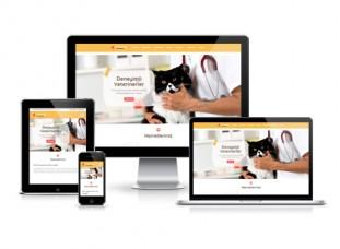 Veteriner Web Sitesi - Pati