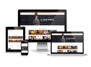 Wordpress Avukat Sitesi - Tensip