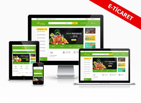 E-ticaret Paketi -  Yeşil