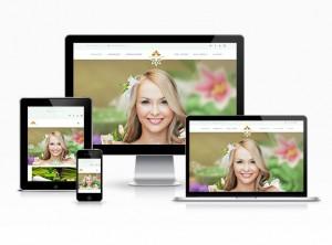 Güzellik Salonu Web Sitesi - Leylak