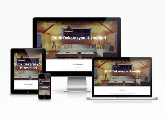 Hazır Web Sitesi - Sofa