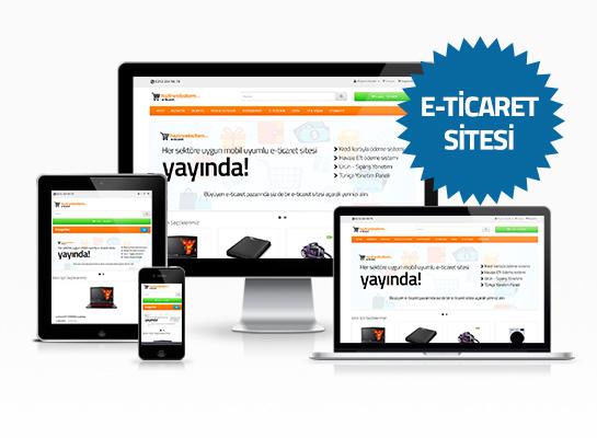 hazır e-ticaret sitesi