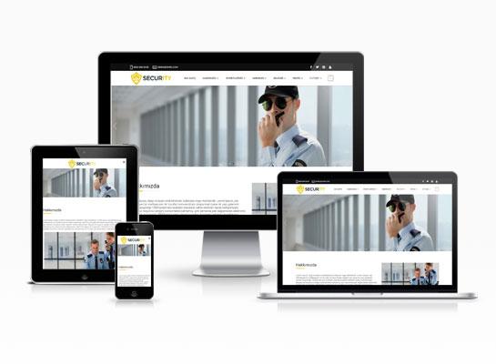 hazır güvenlik firma sitesi