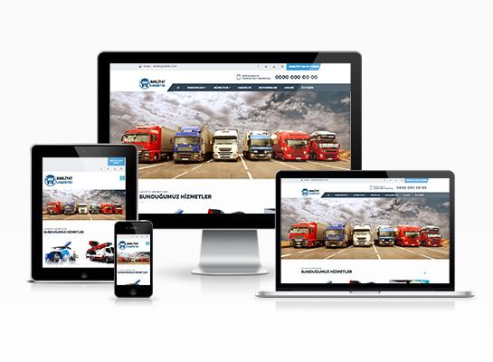 hazır lojistik web sitesi