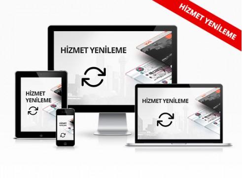 E-ticaret Sitesi Hizmet Yenileme