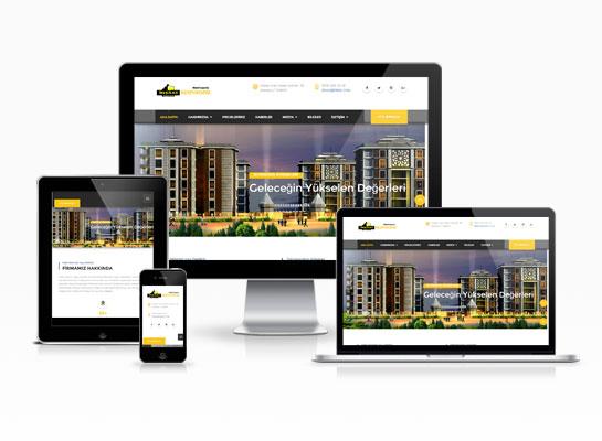 inşaat sektörü web siteleri