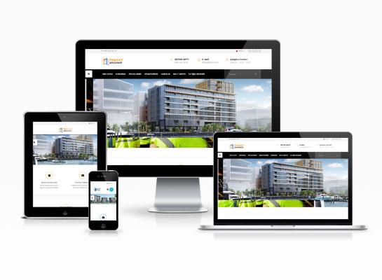 İnşaat Web Sitesi - Nervür