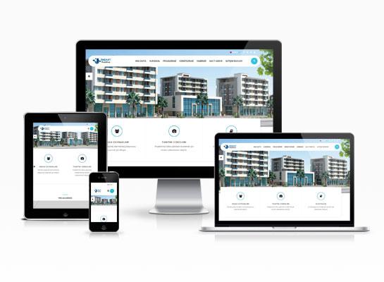İnşaat Web Sitesi - Firkete