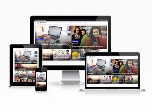 hazır kişisel blog sitesi