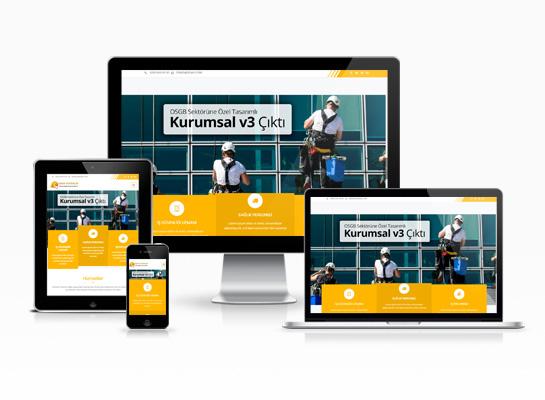 OSGB Hazır Web Sitesi