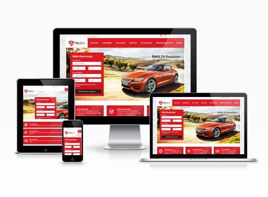 Rent A Car Web Sitesi - Rent34