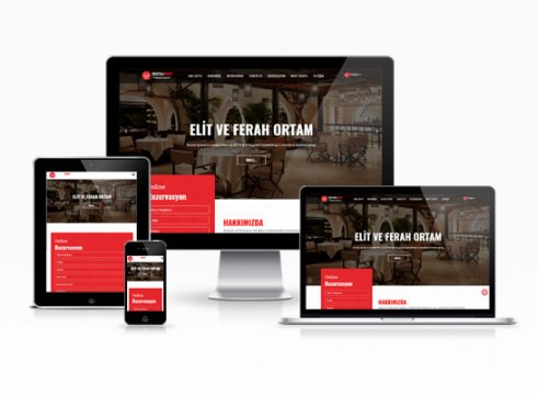 restorant web sitesi