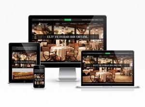 Hazır Restorant Sitesi - Elit