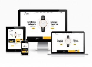 Kurumsal E-ticaret Sitesi - Bezel
