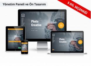 Fotoğrafçı Web Sitesi - Kadraj