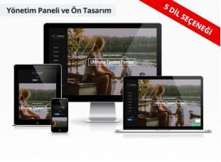 Fotoğrafçı Web Sitesi - Piksel