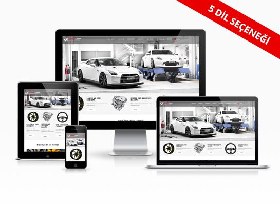 Hazır Web Sitesi - Turbo