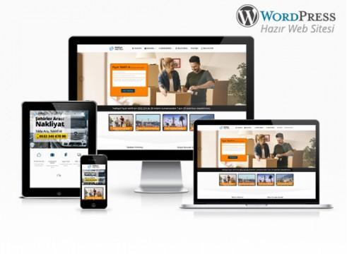 wordpress nakliyat web sitesi