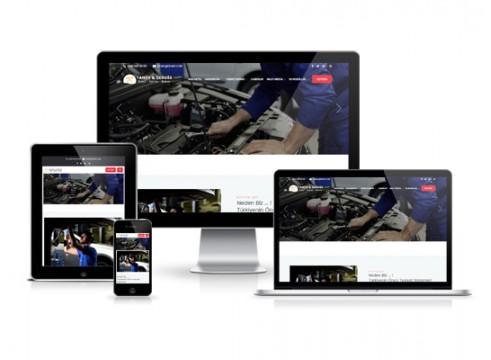 servis bakım web sitesi