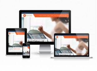 Spor Salonu Web Sitesi - Aerobik