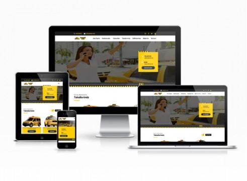 taksi durağı web sitesi