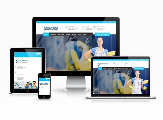 temizlik firması web sitesi
