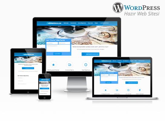wordpress halı yıkama sitesi