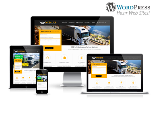 Wordpress Nakliyat Sitesi